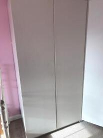 IKEA PAX white wardrobe