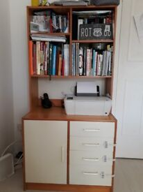 Shelving unit and drawers