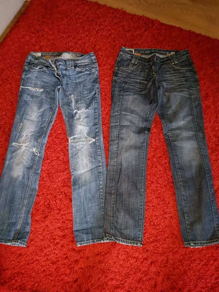 Ladies size 12 river island jeans