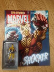 Figurine collection marvel and DC