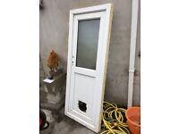 Small UPVC Door & frame