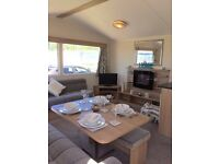 3 bedroom dg and gch static caravan holiday home essex