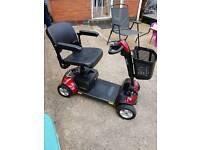 Pride mobility scooter Go-Go elite traveller sports