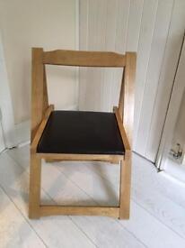 Brand New 4 stowaway chairs