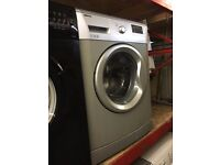 BEKO 7KG 1200 SPIN WASHING MACHINE SILVER RECONDITIONED
