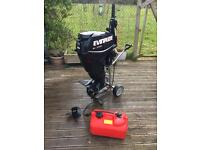 Evinrude etec 30hp outboard 2013 like new