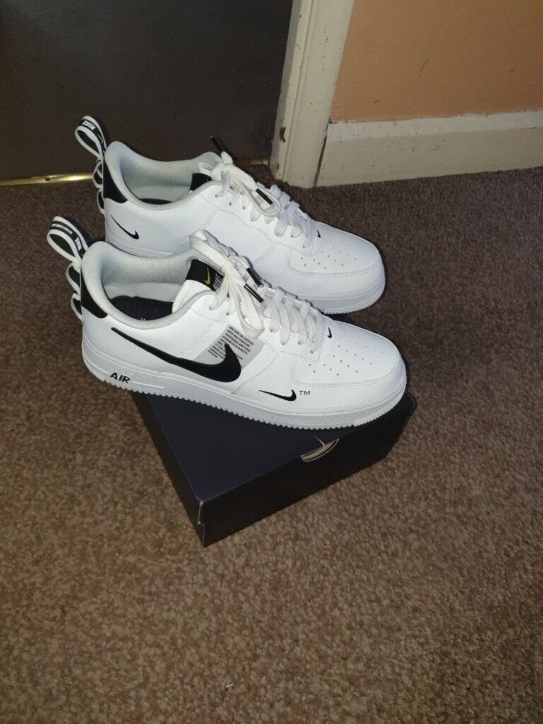 sale retailer c00a3 ab6a8 Nike Air Force 1 Low Utility White Black