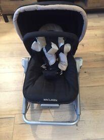 McLaren baby bouncer vibrating rocker