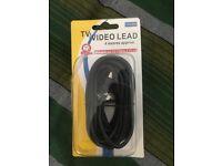 TV/Video Lead 4 Meter (Male Plug to Female Plug)