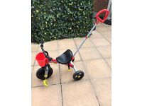 Chico U-Go Trike. 18mths-5yrs. Red in colour. Very good condition. Hardly used. Original box