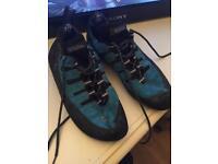 Boreal rock climbing shoes size 7