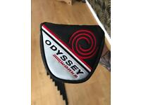 Odyssey white hot 2 ball putter.