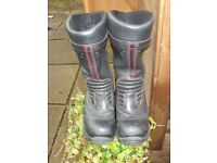 Heavy Duty Men's 'Jelly' Fireproof Safety Work Boots (Gore) Size 9