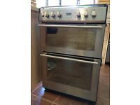 Freestanding Stoves dual fuel 600mm cooker in stainless steel