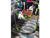 Fisher price jumperoo baby toy