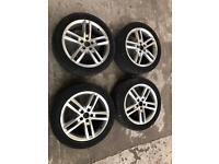"Audi A6 S-line 18"" Inch Alloy Wheel Rims Tyres"