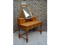 FREE DELIVERY Antique Hall Dressing Table Vintage Wooden Furniture