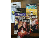 The Shield Comic books (All inc Variant covers)