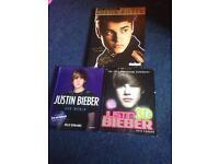 3 Justin bieber books