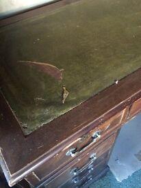 Antique Desk (3 piece)