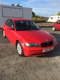 2001 BMW 316i 1995cc petrol