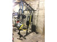 Multigym plus weights bench