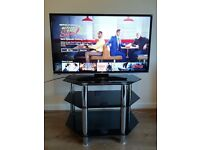 """TV - JVC 40""""LED Smart HD TV with stand"""