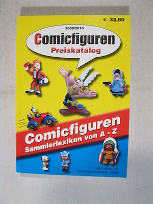 Comic Figuren Preiskatalog 2009/2010 Bully Schleich etc. mit Asterix Donald etc.