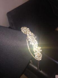 Bridal Bliss Custom Made Jewelled Wedding Hair Band Head Piece