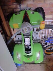 Raptor 12v electric quad bike