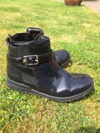 Clark's Girl's School Boots size 2.5