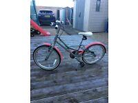 Girls 20in Victoria Pendleton bike