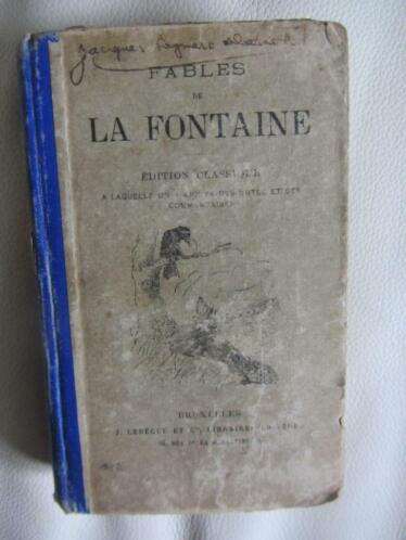 . fables de la fontaine