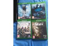 Xbox one games (READ DESCRIPTION)