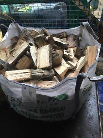 Barn dried logs for sale