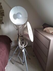 Photax 17inch /45mm studio lights ideal for indoor digital work