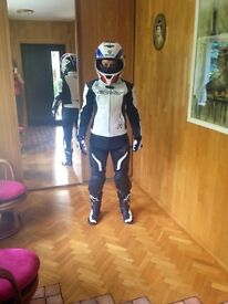 Motorcycle Leather Costume