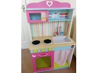 Childs Toy Wooden Kitchen. Immaculate!