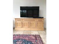 Solid Wood Side Unit / TV Unit