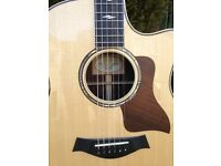 Taylor 816CE acoustic guitar with expression 2 pick up system - mint, huge saving on new price.