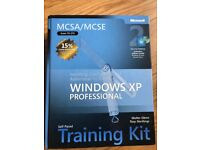 Windows XP Professional Training Kit Hardback Book with software pack