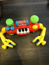 Buggy musical toy