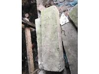 Breeze blocks thermal blocks big concrete blocks rare for sale
