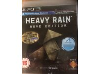 Heavy Rain Move Edition PS3 Mint Condition