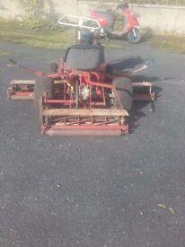 6 ft Ganger Mower Diesel 7.5 HP