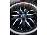 "19"" Bmw wheels £50"
