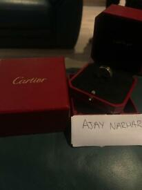 Yellow Gold Cartier Love Wedding Band Ring Size 52