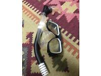 goggles/mask snorkel