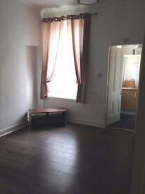 One bedroom ground floor flat.