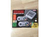 Super Nintendo Entertainment System - SNES MINI